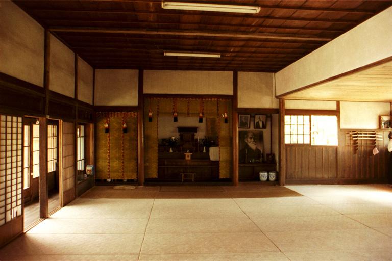 Salle de combat 02_inside_Ibaraki_shibu_dojo(Iwama-dojo)